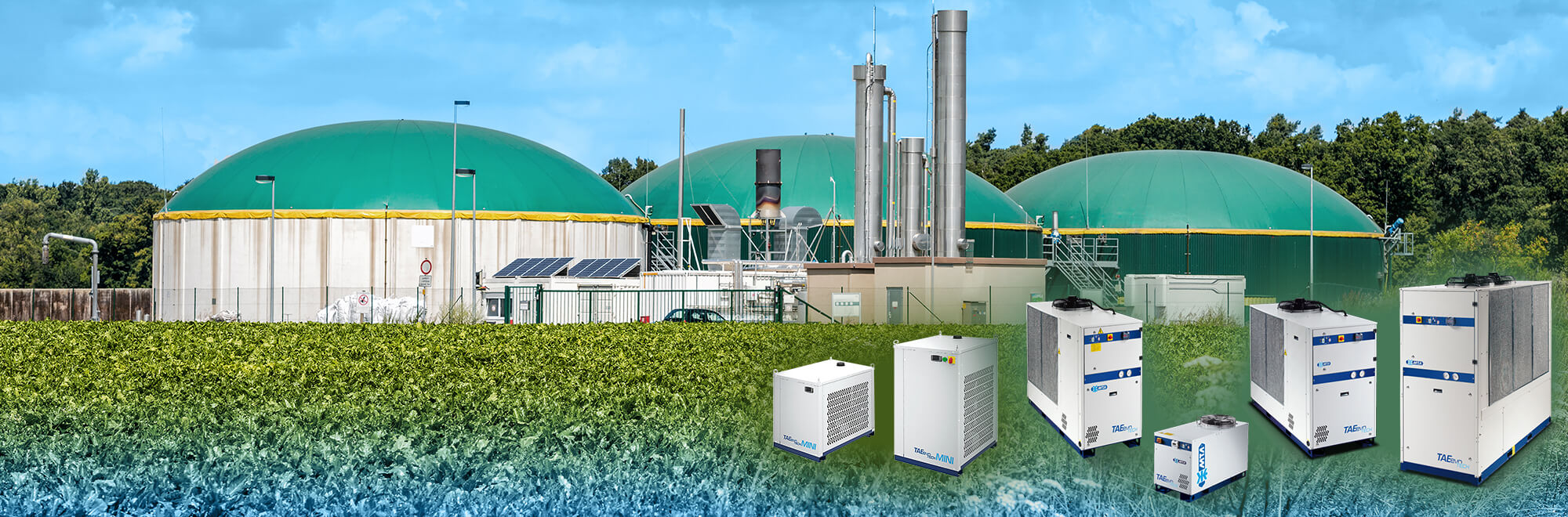 Gaskühlung & Gastrocknung