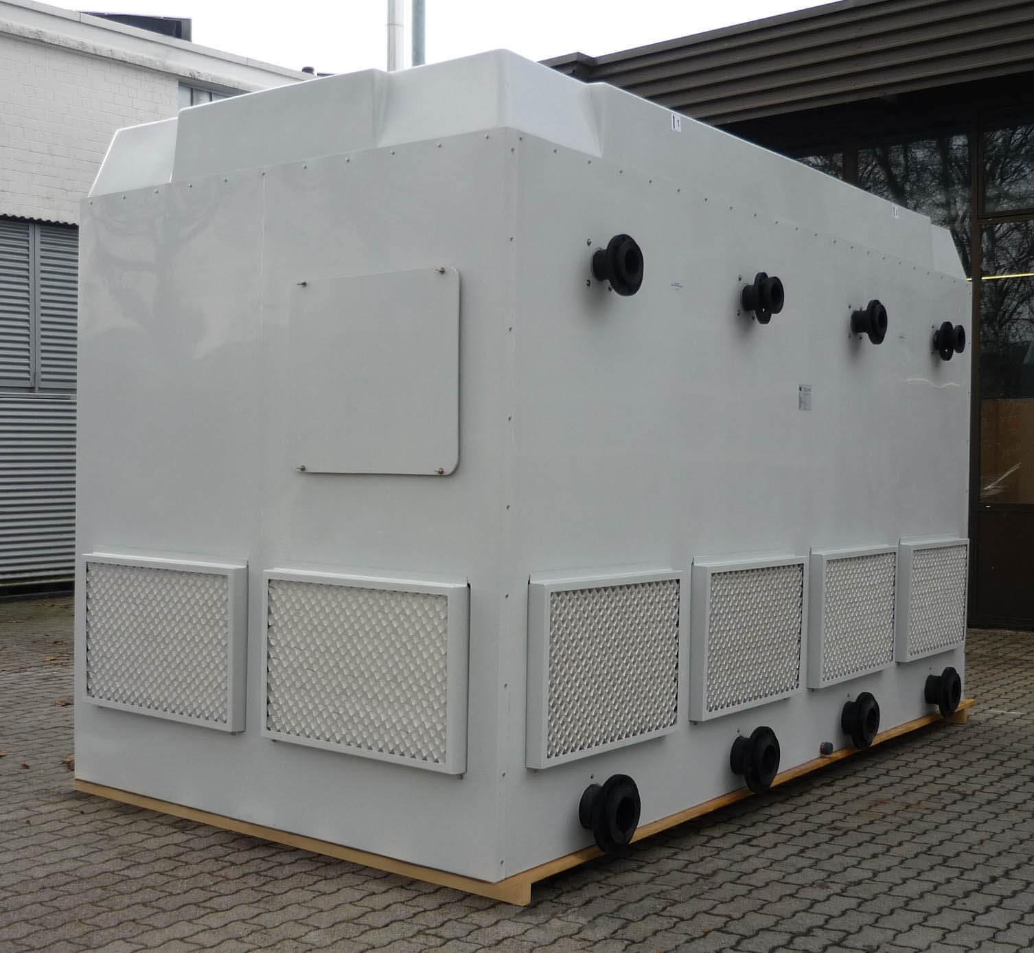 Kühlturm zweizellig (doppelzellig)