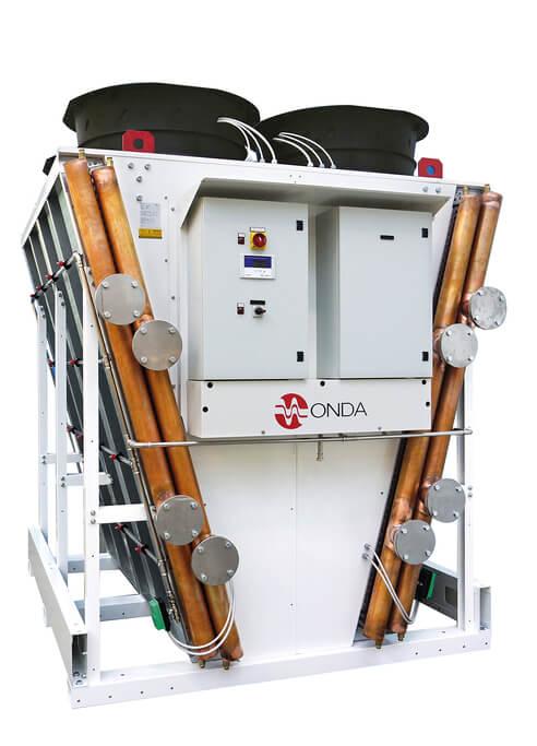 Freikühler Mega MVL, Trockenkühler