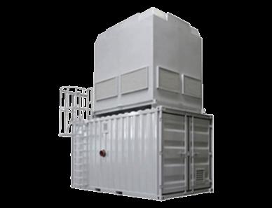 Kühlturm plus Container