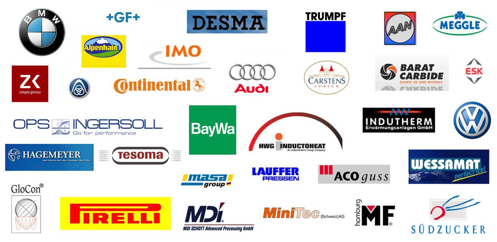 Rehsler Kühlsysteme GmbH - Kunden bekannte Marken
